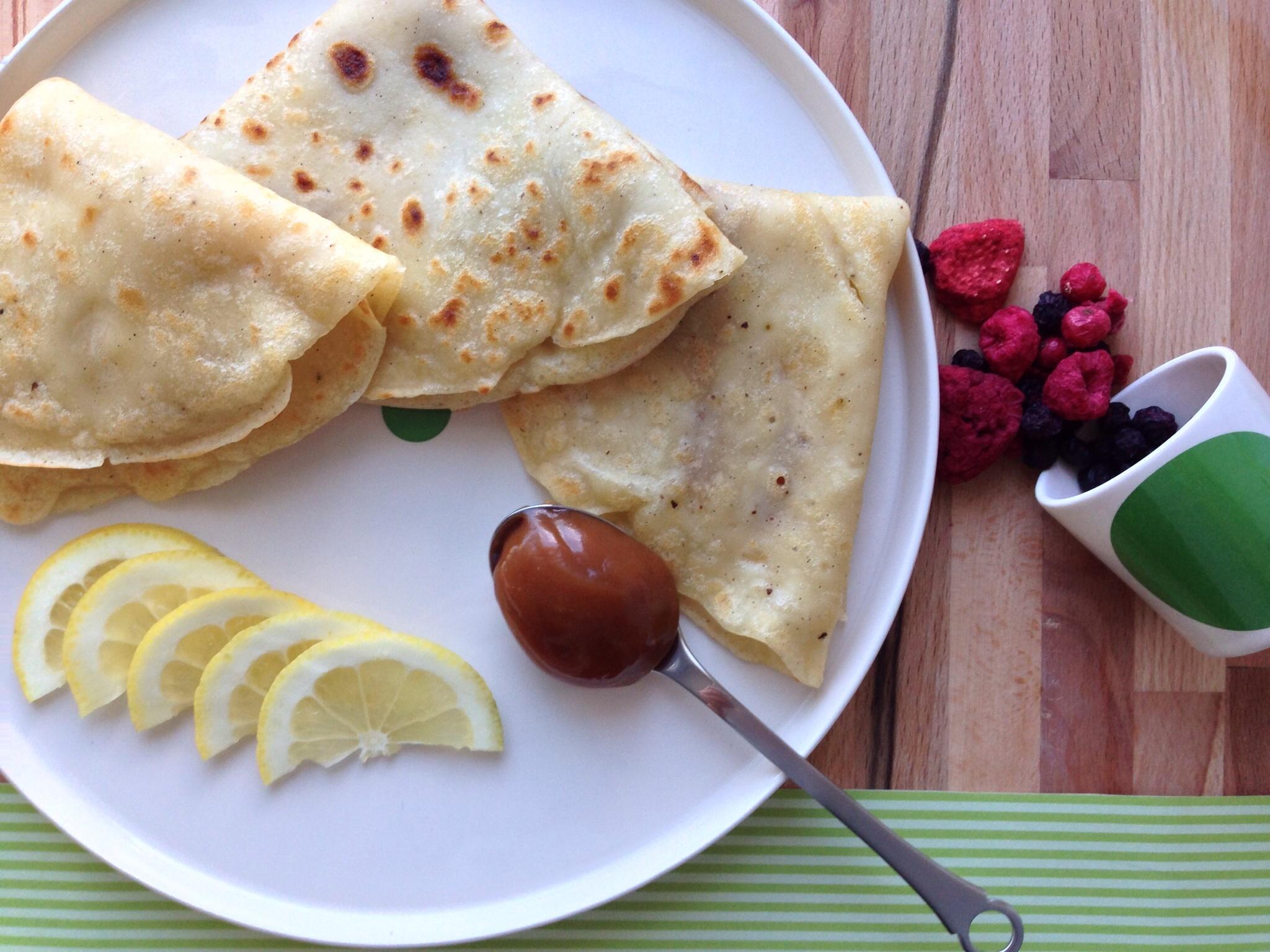 pandekager uden æg og mel